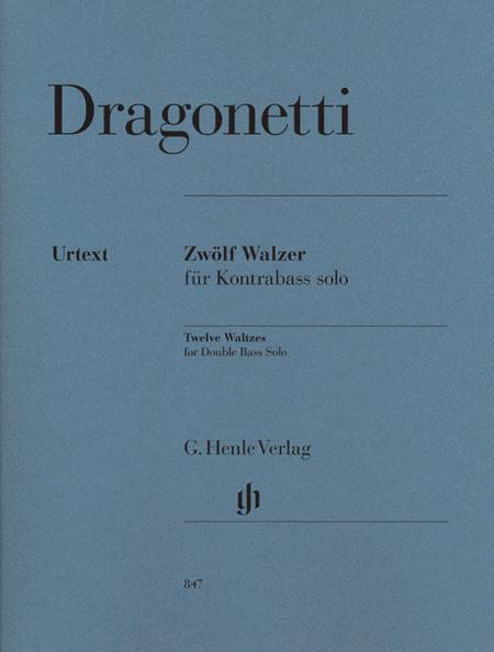 Twelve Waltzes for Double Bass Solo