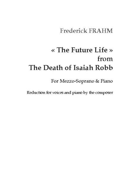 The Future Life from The Death of Isaiah Robb
