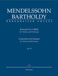 Concerto for Violin and Orchestra e minor, Op. 64