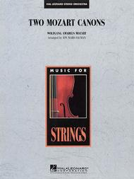 Two Mozart Canons