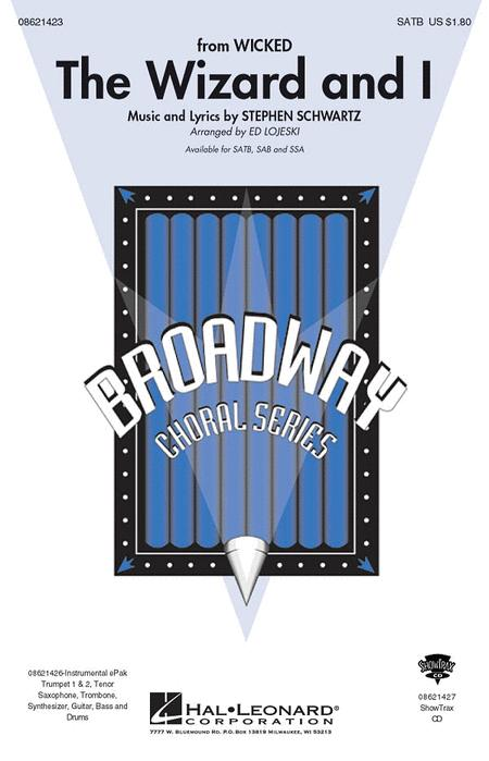The Wizard and I - ShowTrax CD