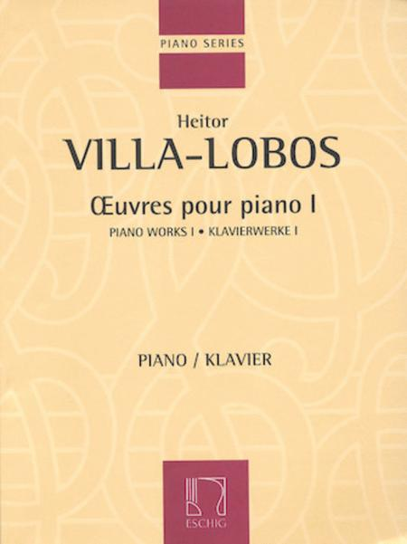 Piano Works 1 - Oeuvres Pour Piano I