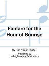 Fanfare for the Hour of Sunrise