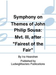 Symphony on Themes of John Philip Sousa: Mvt. III, after