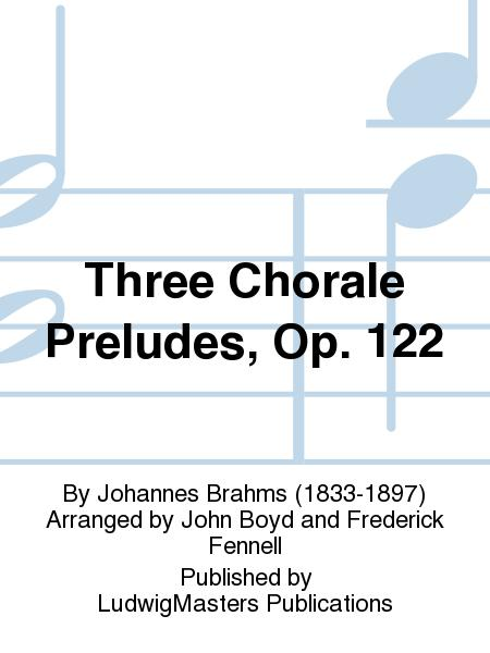 Three Chorale Preludes, Op. 122