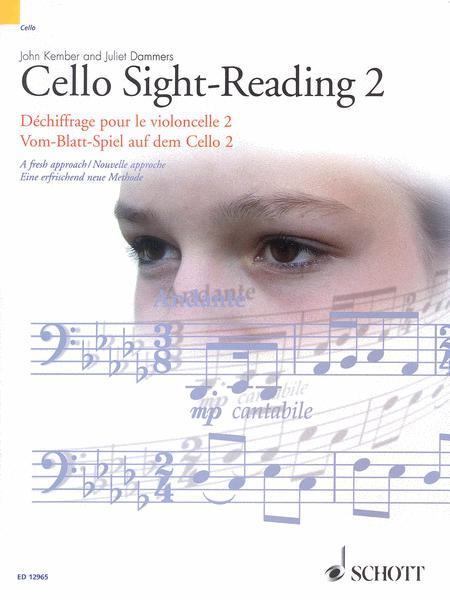 Cello Sight-Reading 2 Vol. 2