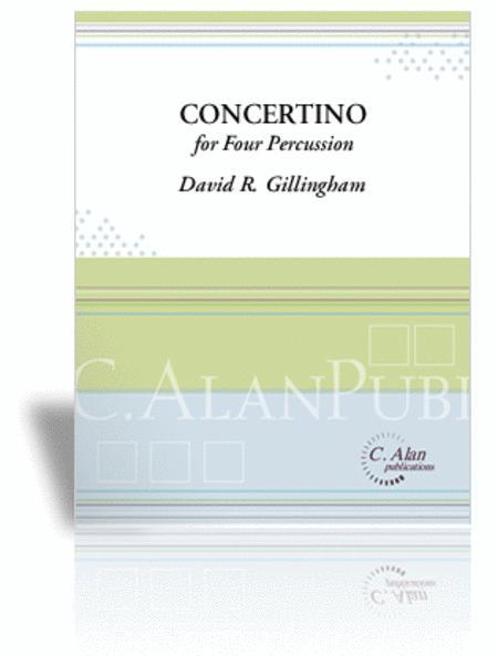 Concertino for 4 Percussion (piano reduction)
