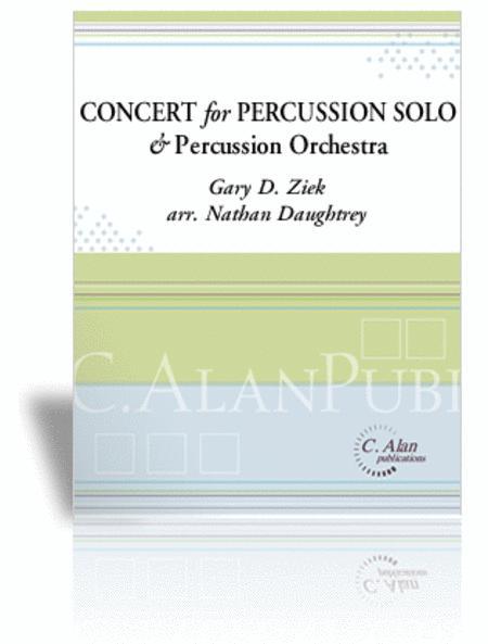 Concerto for Percussion Solo (piano reduction)