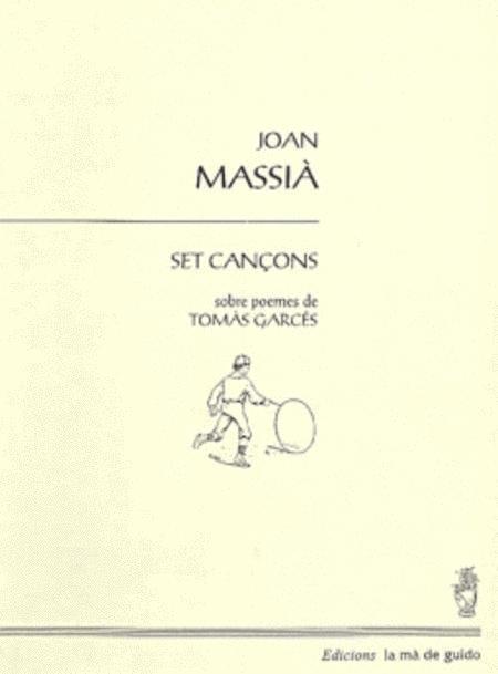 Set cancons sobre poemes de Tomas Garces
