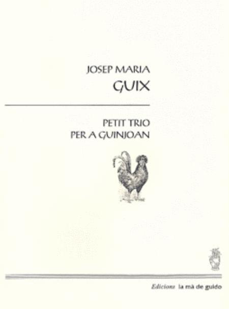 Petit trio per a Guinjoan