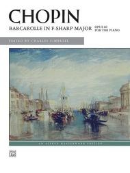 Barcarolle in F-sharp Major, Op. 60