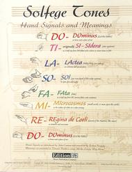 Solfege Tone Poster