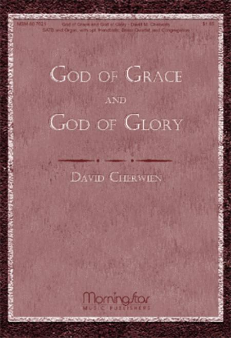 God of Grace and God of Glory (Choral Score)