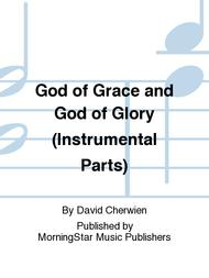 God of Grace and God of Glory (Instrumental Parts)