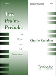 Two Psalm-Preludes for Organ and Solo Instrument