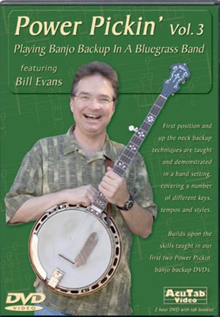 Power Pickin' Vol. 3: Playing Banjo Backup in a Bluegrass Band