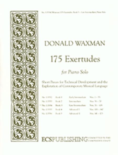 175 Exertudes, Book 3: Late Intermediate