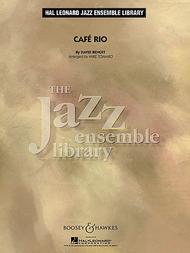 Cafe Rio (jazz Ensemble Grade 4) Full Score
