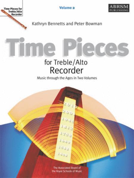 Time Pieces for Treble/Alto Recorder, Volume 2