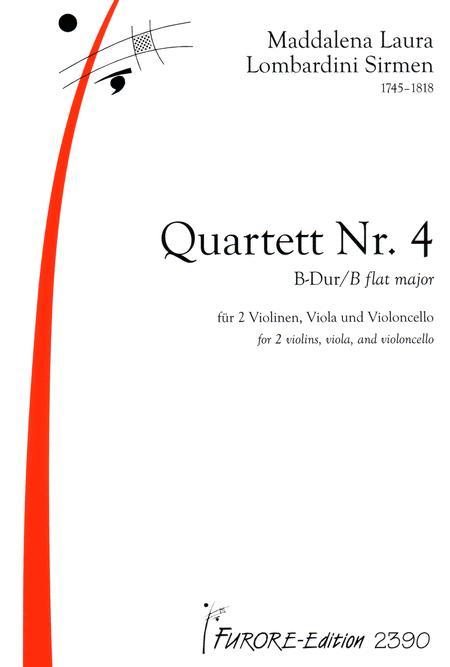 String Quartet No. 4 in B flat major
