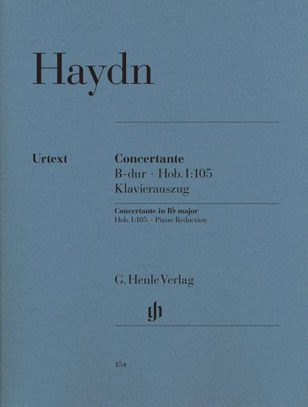 Concertante In B-flat Major Hob. I:105