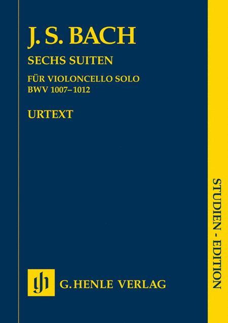 Six Suites for Violoncello solo BWV 1007-1012