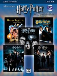 Harry Potter, Instrumental Solos (Movies 1-5) - Alto Saxophone