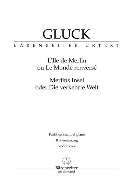 L'Ile de Merlin ou Le Monde renverse (Merlins Insel oder Die verkehrte Welt)
