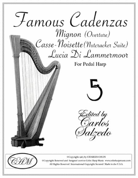 Famous Harp Cadenzas
