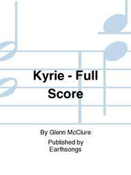 Kyrie - Full Score