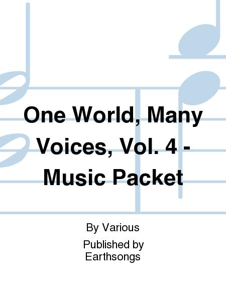 One World, Many Voices, Vol. 4 - Music Packet