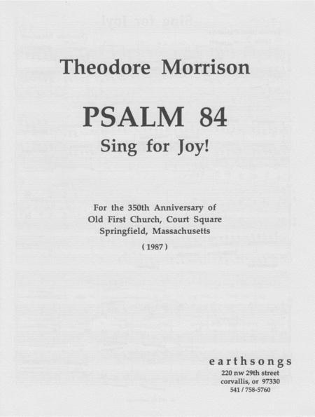 Psalm 84: Sing For Joy