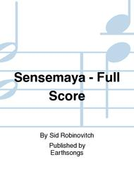 Sensemaya - Full Score