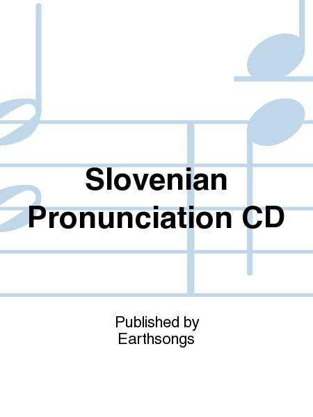 Slovenian Pronunciation CD