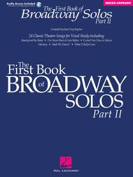 The First Book of Broadway Solos - Part II