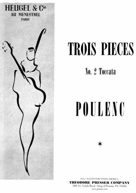 Trois Pieces - No. 2 Toccata