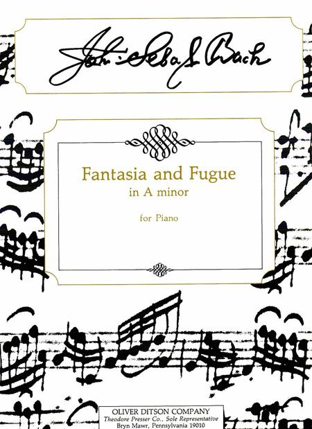 Fantasia And Fugue in A Minor