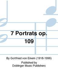 7 Portrats op. 109