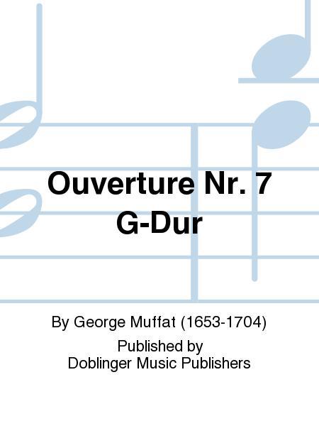 Ouverture Nr. 7 G-Dur
