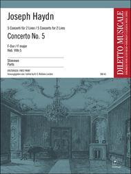 Concerto Nr. 5 F-Dur Hob. VIIh:5