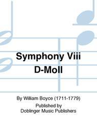 Symphony Viii D-Moll