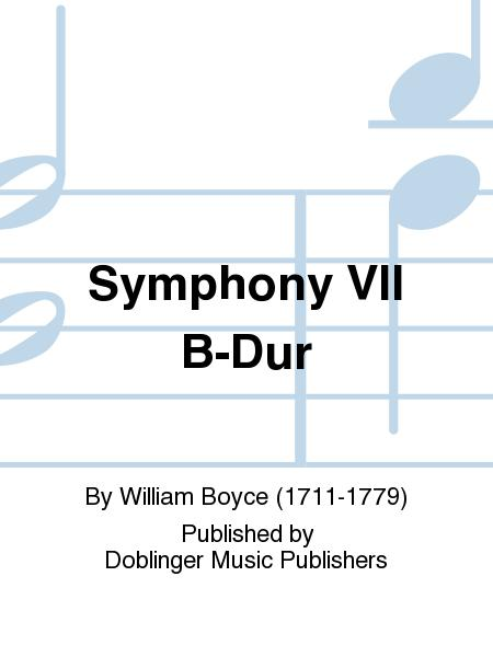Symphony VII B-Dur
