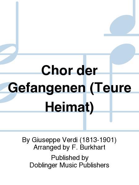 Chor der Gefangenen (Teure Heimat)