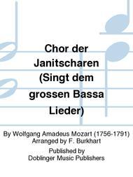 Chor der Janitscharen (Singt dem grossen Bassa Lieder)