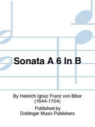 Sonata A 6 In B