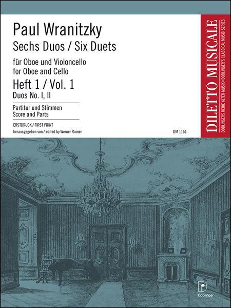 6 Duos - Heft 1: Duo 1 C-Dur, 2 F-Dur
