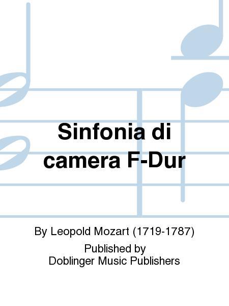 Sinfonia di camera F-Dur