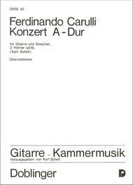Concerto A-Dur