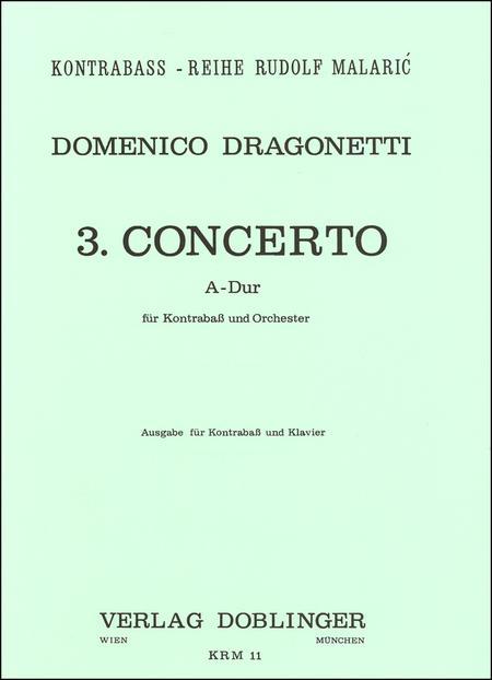 Concerto Nr. 3 A-Dur