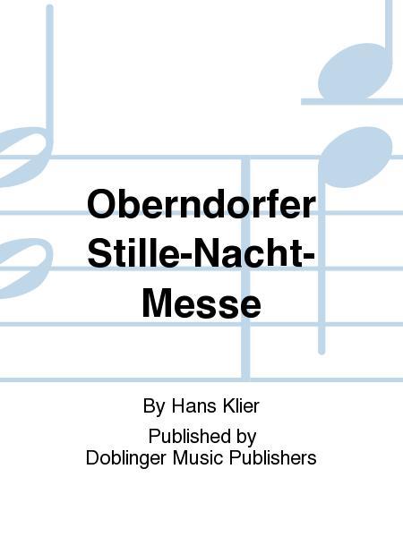Oberndorfer Stille-Nacht-Messe